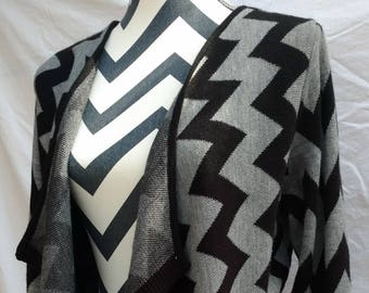 Chevron sweater, M