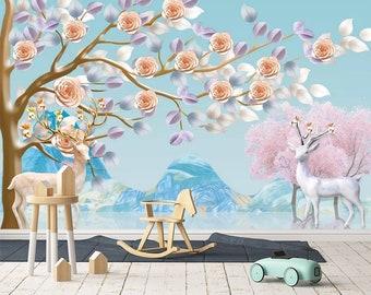 Fairy wall mural Etsy