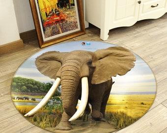 Elefant Teppich Etsy