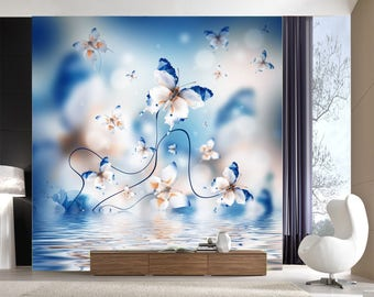 Butterfly wall mural Etsy