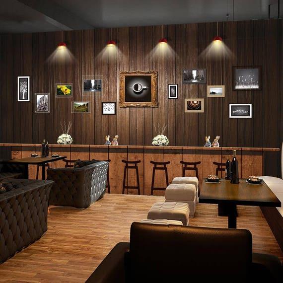 3d Bar Counter 1022 View Wallpaper Mural Wall Print Decal Wall Etsy