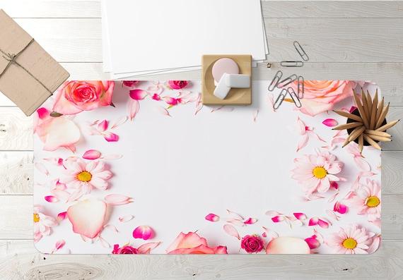 3d Flower 256 Non Slip Office Desk Mouse Mat Table Extra Large Etsy