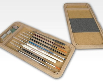 HobbyZone Paint Brush Box