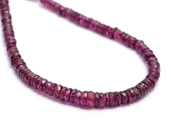 Rhodolite Garnet Beads Full 14 Strand 4 mm   Loose Rhodolite Garnet Beads  Rhodolite Garnet Cabochon Balls Beads