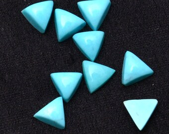 3mm to 7mm 100/% Natural Tibetan Turquoise Triangle shape cabochon with free shipping