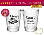 Custom Shot Glasses, Shot Glasses, Shot Glass, Wedding Favors, Wedding Shot Glasses, Custom Shot Glass, Personalized Shot, bridesmaids gift