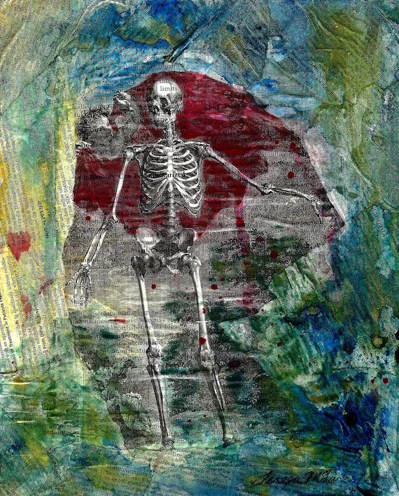 Albinus Skeleton with cherub