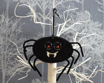 Handmade Ceramic Halloween Spider, Halloween Decor Spider Decoration
