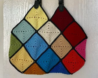 Large Size Crochet Hand Bag