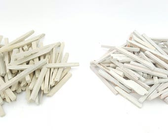 Slate Pencils Box of 200 grams Available in White and Pale brown Choices