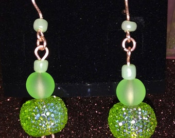 Beautiful handmade jewellery earrings