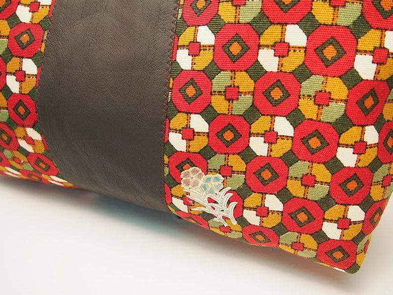 Japanese Tote Vintage Obi Bag