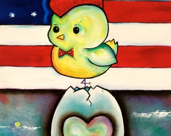 Hatched in the USA (homage to Bruce)