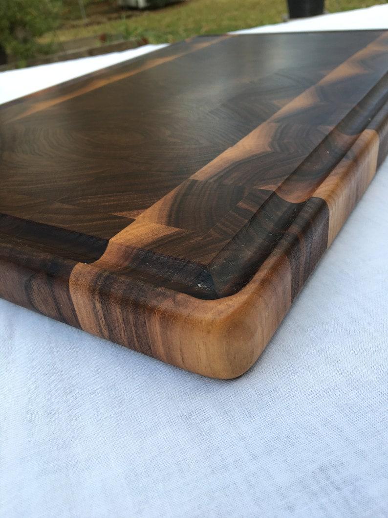Champ Solid Walnut End Grain Cutting board