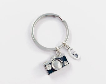 3a5390abe Initial Letter Keychain