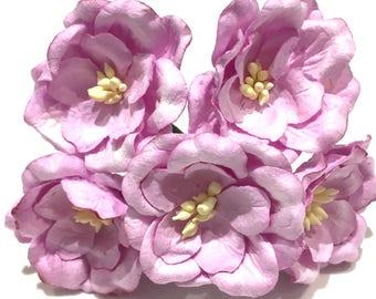 LILAC Mulberry Paper Magnolias MAG006