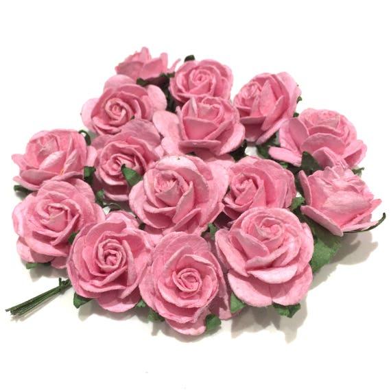 Mi Or010 de Roses Papier mûrier ouvert rose