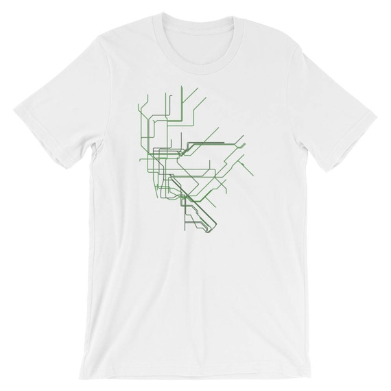 Nyc Subway Map Shirt.Adult New York City Nyc Subway Map Line Art Short Sleeve Relaxed Fit T Shirt Mta Metro Transit Authority Small To 4xl Plus Size