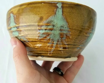 Forest Patch Swirl Bowl