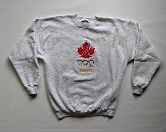 0395292ae80 Vintage 1996 Atlanta Olympics Team Canada Sweatshirt