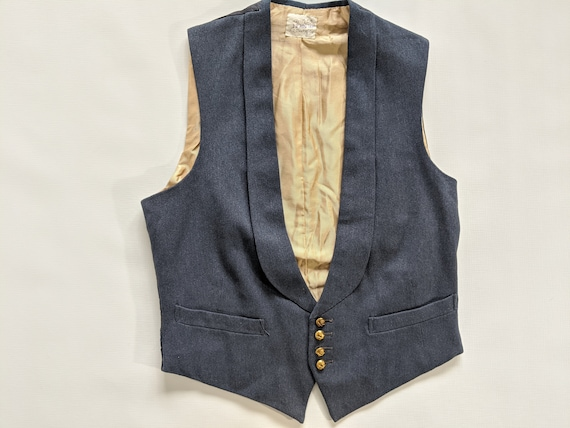 1930s Royal Air Force WW2 Era Mess Dress Vest