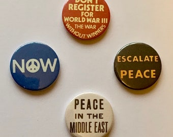 Protest Buttons 2.25 inch pinback button pin badge Pin Set Badges Anti Trump Buttons Button Not My President USA Pin