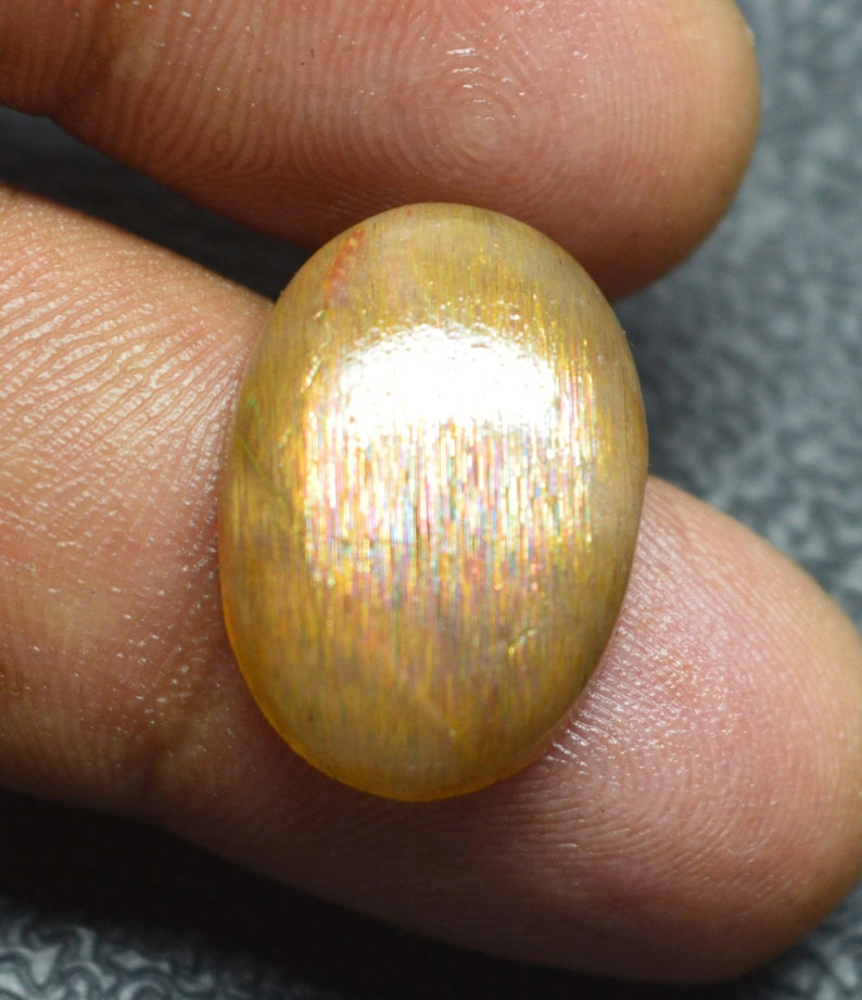 Sunstone gemstone moonstone Sunstone loose gemstone For Jewellery 16Cts 11x14x5MM