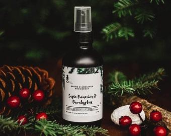 Balsam fir + Eucalyptus, ambient mist