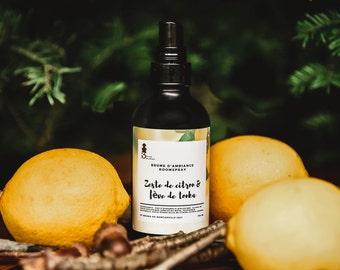 Lemon zest + Tonka bean, mood mist