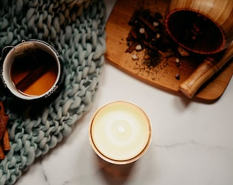 Vanilla chai, soy candle