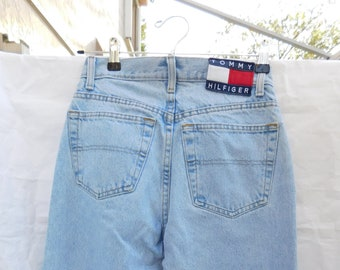 53efee8978 Vintage Tommy Hilfiger High Waist Mom Jeans 80's 90's Women Size 2 Waist 26