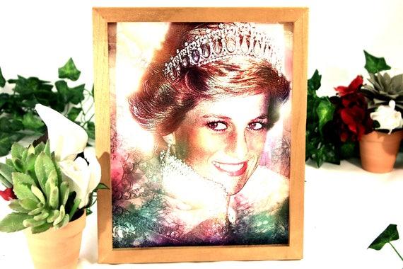 Princess Diana Fashion Icon Art Print Celebrity Artwork Etsy