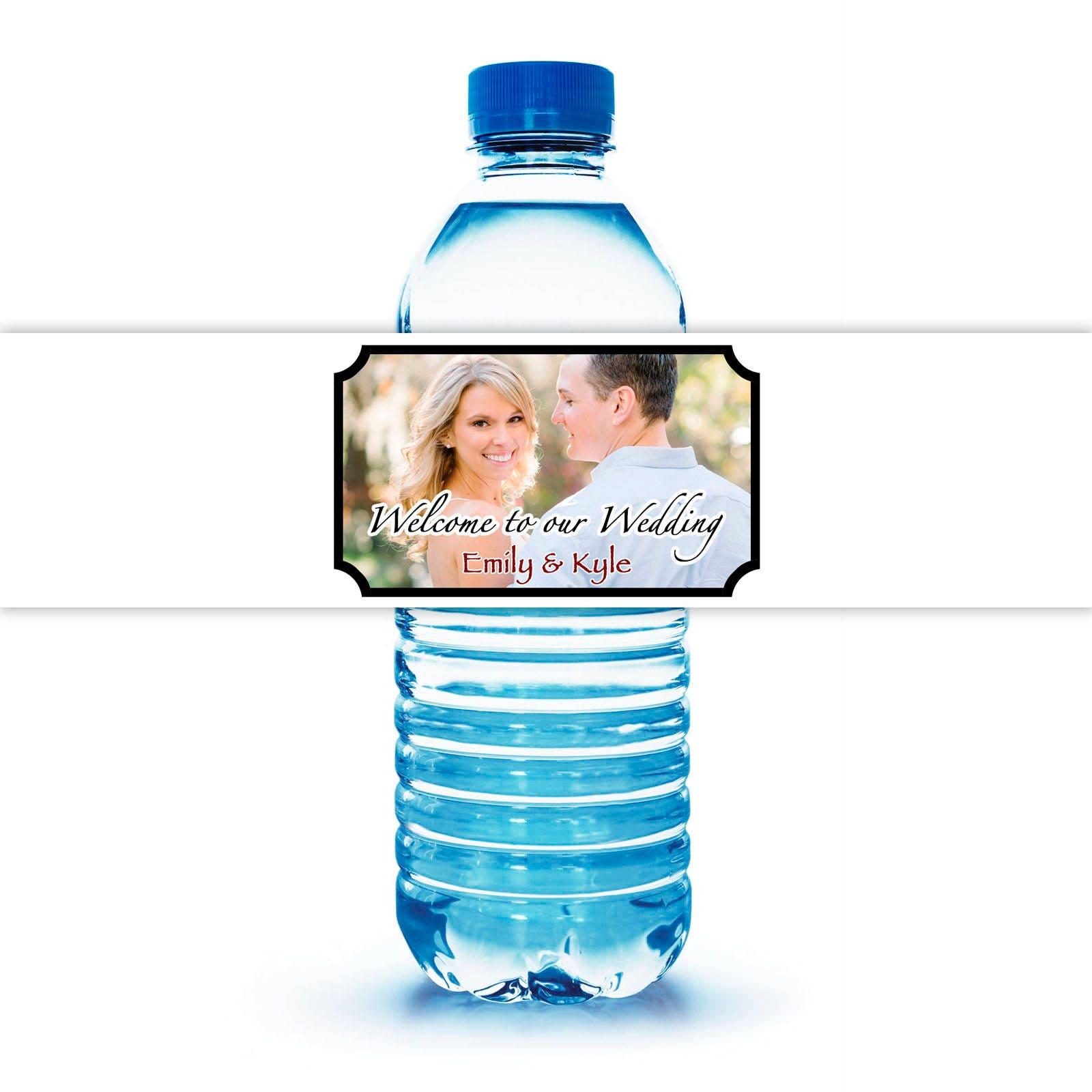 Water Bottle Kenya: Custom Designed Water Bottle Labels And Personalized