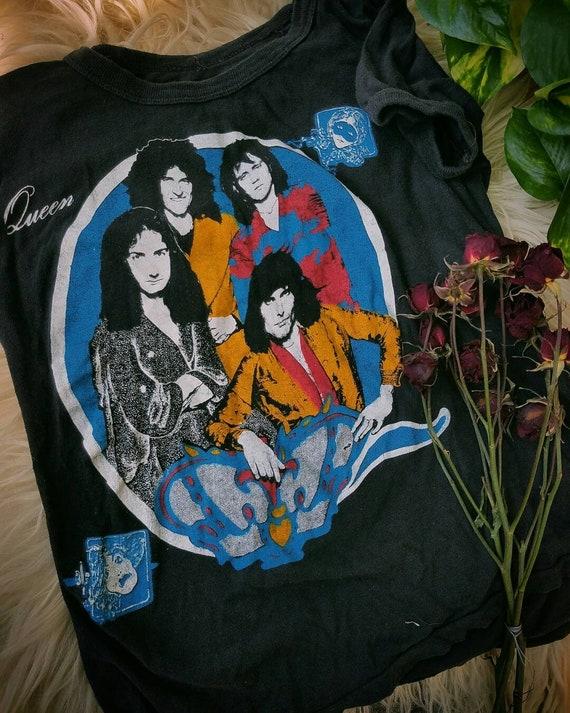 Vintage 1970s queen tshirt