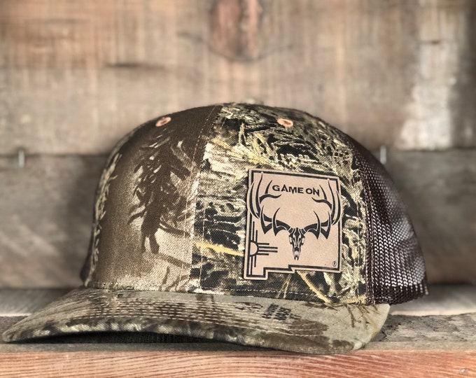 Game On NM state bull elk or mule deer buck (snap back hat) Max 1 HT