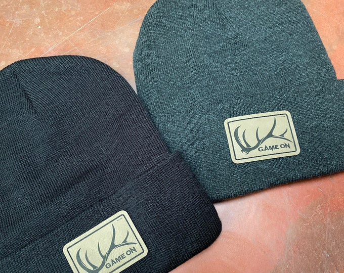 Game On Elk shed beanie