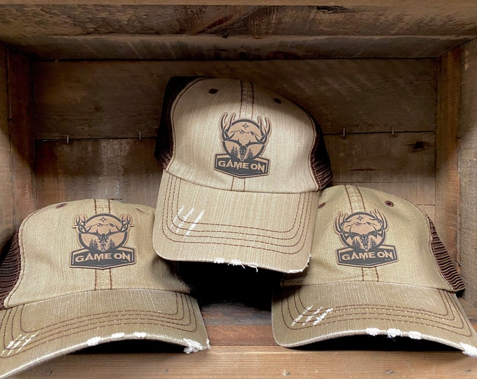 Game On wilderness hat-unstructured with hook and loop enclosure