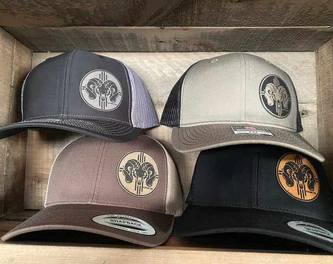 Game On Zia Bighorn  (snap back hat)