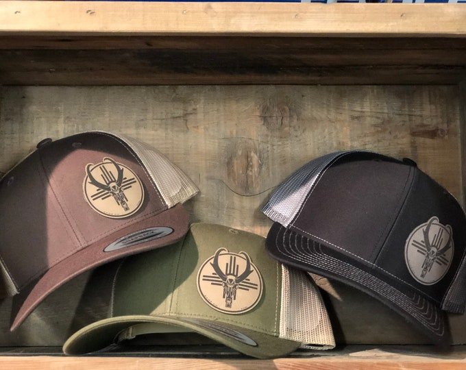 Game On with or with out Zia Antelope  (snap back hat)