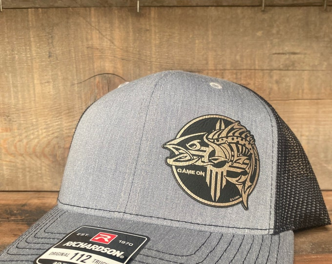 Game On Zia Trout hat (snap back hat)