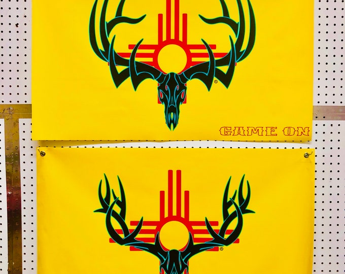 New Mexico Elk and Deer Game On banner