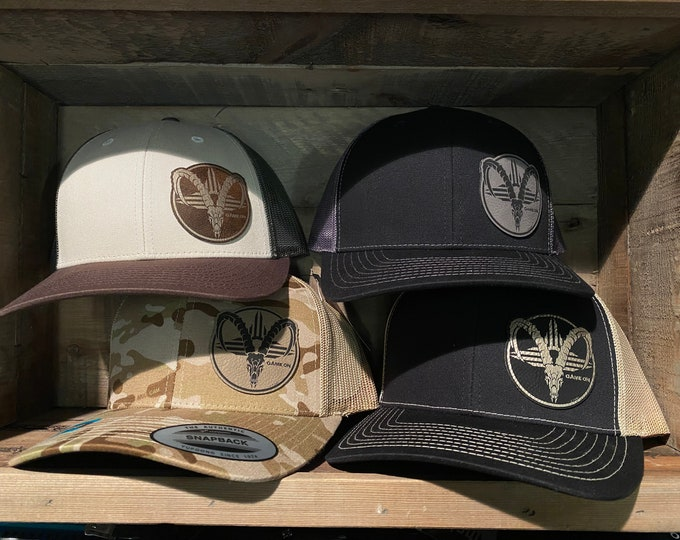 New Mexico Ibex  (snap back hat)