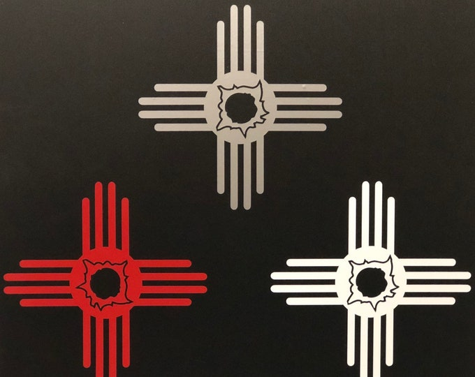 """New Mexico Gun owner 5"""" decal- NM2A"""