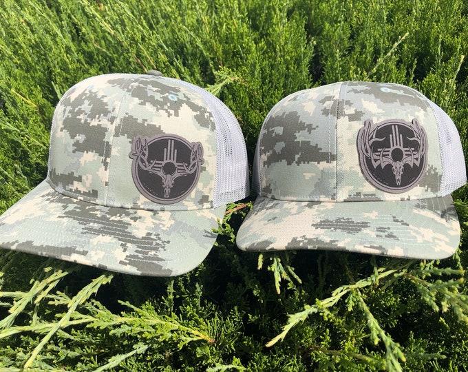 Game On Zia bull elk or mule deer buck (snap back hat)