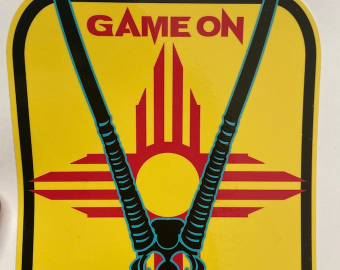 New Mexico Oryx GAME ON decal- large