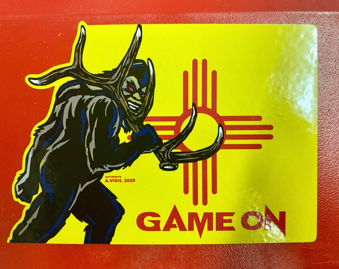 """Sasquatch shed hunter -     GAME ON 6"""" decal"""