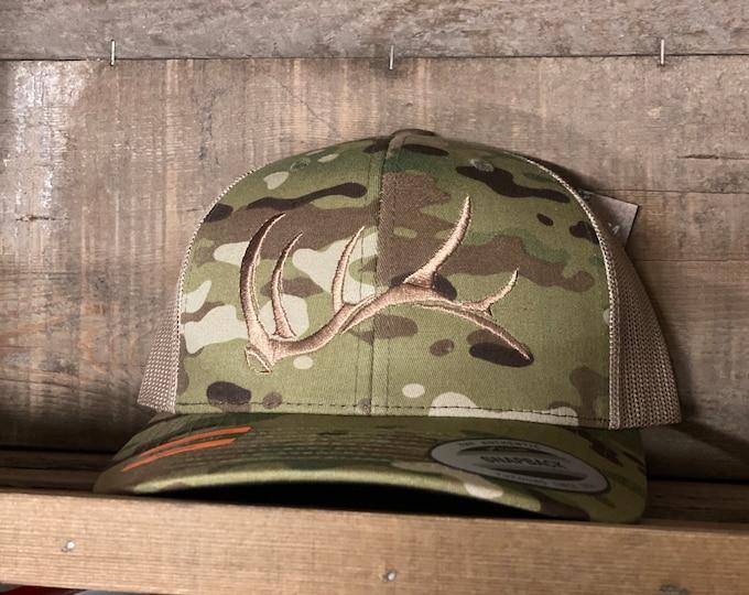 Game On bull elk shed hat (snap back)