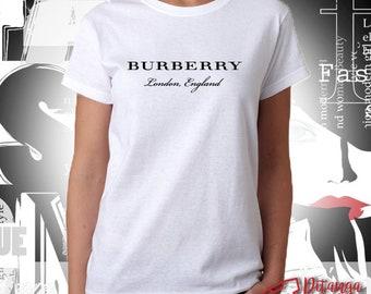 Burberry Inspired Unisex Woman s T-Shirt, Sweatshirt, Hoodie - 100% Cotton  - Size XS-XXL 239a977a87c