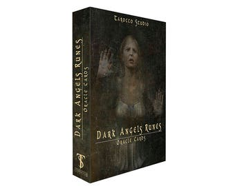 The Original Dark Angels Runes Oracle Cards. Colorful Cards for Divination