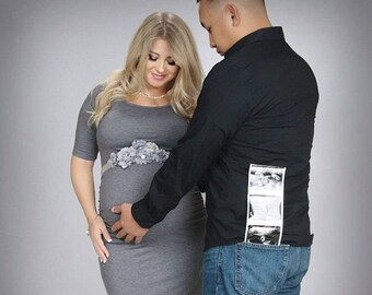 Flower Sash, Grey Sash , flower Belt, maternity sash, wedding sash, maternity sash girl, flower girl sash, gray sash